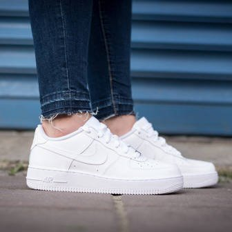 DAMEN SNEAKER SCHUHE NIKE AIR FORCE 1 (GS) 314192 117