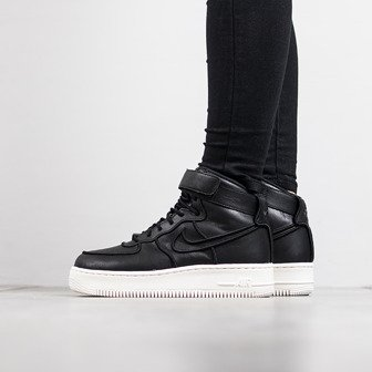 Damen Schuhe sneakers Air Force 1 Upstep HI SI 881096 001