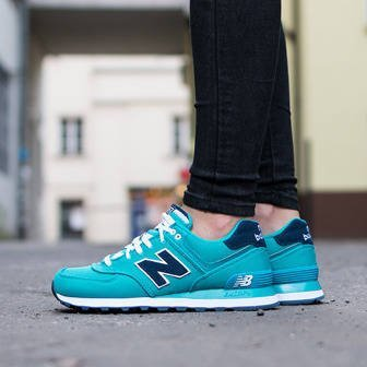 Damen Schuhe sneakers New Balance Polo Pack WL574POA