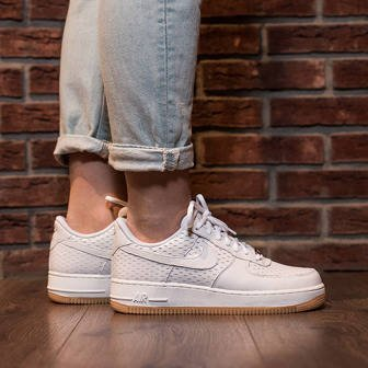 Nike Air Force Damen Beige