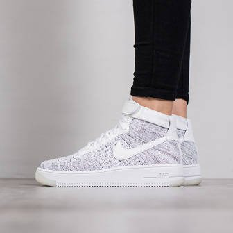 Damen Schuhe sneakers Nike Air Force 1 Flyknit 818018 101