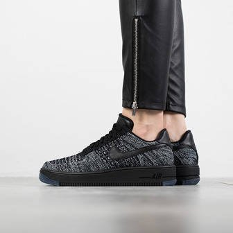 Damen Schuhe sneakers Nike Air Force 1 Flyknit Low 820256 007