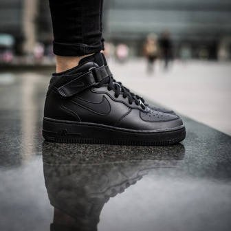 Damen Schuhe sneakers Nike Air Force 1 Mid (GS) 314195 004
