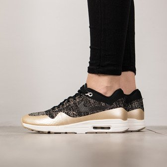 Damen Schuhe sneakers Nike Air Max 1 Ultra 2.0 Flyknit Metallic Gold 881195 001
