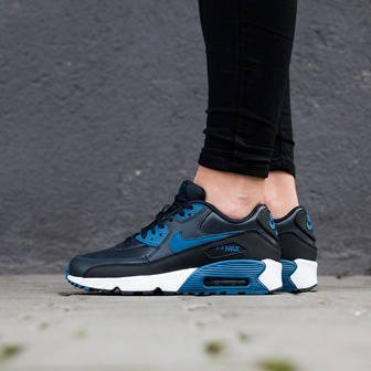 Damen Schuhe sneakers Nike Air Max 90 Leather (GS) 833412 402