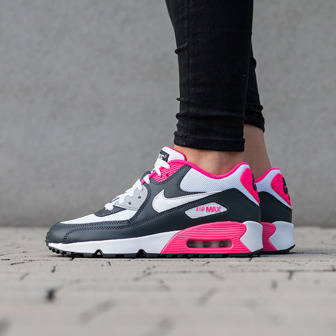 Damen Schuhe sneakers Nike Air Max 90 Mesh (GS) 833340 001