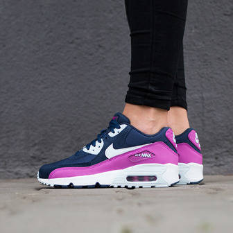 Damen Schuhe sneakers Nike Air Max 90 Mesh (GS) 833340 402