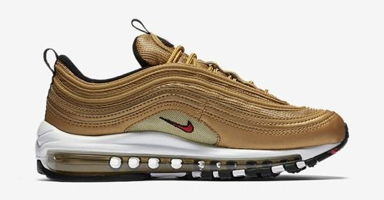 "Damen Schuhe sneakers Nike Air Max 97 ""Metallic Gold"" 885691 700"