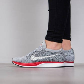 "Damen Schuhe sneakers Nike Flyknit Racer ""Little Red"" 526628 013"