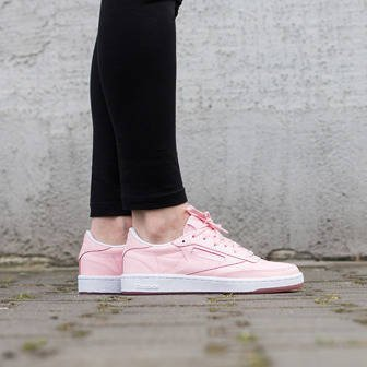 Damen Schuhe sneakers Reebok Club C 85 Face Of Stockholm AR1409