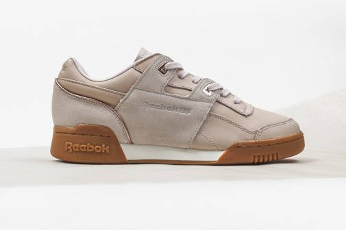 Damen Schuhe sneakers Reebok Workout Lo Plus Golden BD4606
