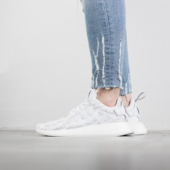 "Damen Schuhe sneakers adidas Originals NMD_R2 ""Footwear White"" BY8691"