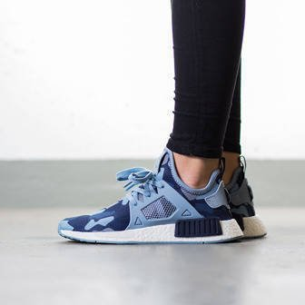 "Damen Schuhe sneakers adidas Originals NMD_XR1 ""Duck Camo Pack"" Midnight Grey BA7754"