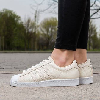 Damen Schuhe sneakers adidas Originals Superstar 80s Woven S75006