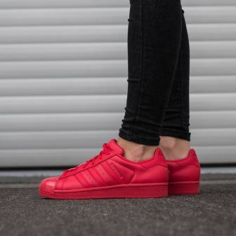 Damen Schuhe sneakers adidas Originals Superstar Glossy Toe S76724