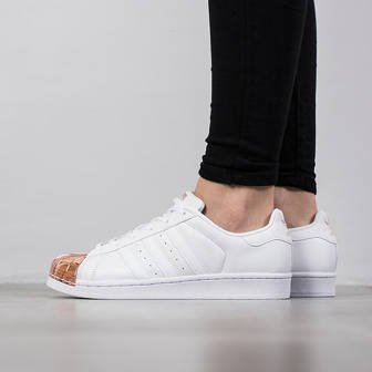 Damen Schuhe sneakers adidas Originals Superstar Metal Toe BY2882