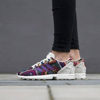 Damen Schuhe sneakers adidas Originals ZX Flux x The Farm Company S76593