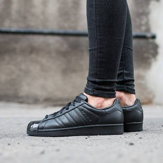 Damen Schuhe sneakers adidas Superstar Glossy Toe BB0684