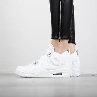 "Damen schuhe sneakers Air Jordan 4 Retro ""Pure Money"" 408452 100"