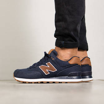 "Herren Schuhe sneakers New Balance 574 ""15 Ounce Canvas Pack"" ML574TXB"