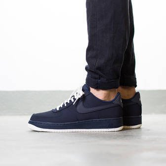 "Herren Schuhe sneakers Nike Air Force 1 ""Obsidian"" 820266 403"