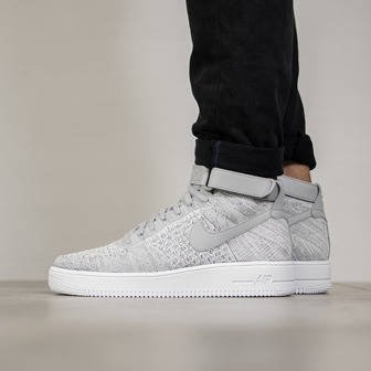 Herren Schuhe sneakers Nike Air Force 1 Ultra Flyknit Mid 817420 003