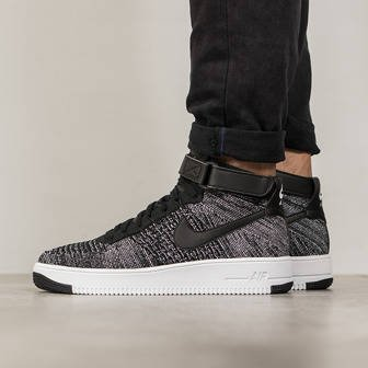 Herren Schuhe sneakers Nike Air Force 1 Ultra Flyknit Mid 817420 004