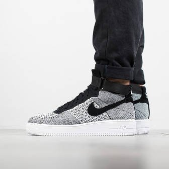 Herren Schuhe sneakers Nike Air Force 1 Ultra Flyknit Mid 817420 005