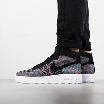 Herren Schuhe sneakers Nike Air Force 1 Ultra Flyknit Mid 817420 602