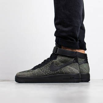 Herren Schuhe sneakers Nike Air Force1 Ultra Flyknit Mid 817420 301