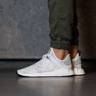 "Herren Schuhe sneakers adidas Originals NMD_XR1 ""Duck Camo Pack"" Footwear White BA7233"