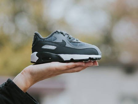 Kinder Schuhe sneakers Nike Air Max 90 Se Ltr (TD) 859561 001