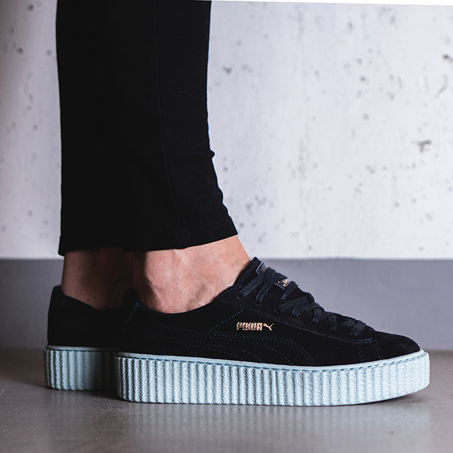 damen schuhe sneakers puma suede creepers x rihanna 361005 05 preis online shop. Black Bedroom Furniture Sets. Home Design Ideas
