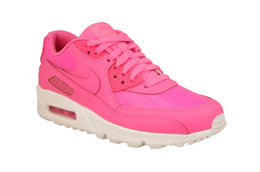 damen sneaker schuhe nike air max 90 gs pink pow. Black Bedroom Furniture Sets. Home Design Ideas