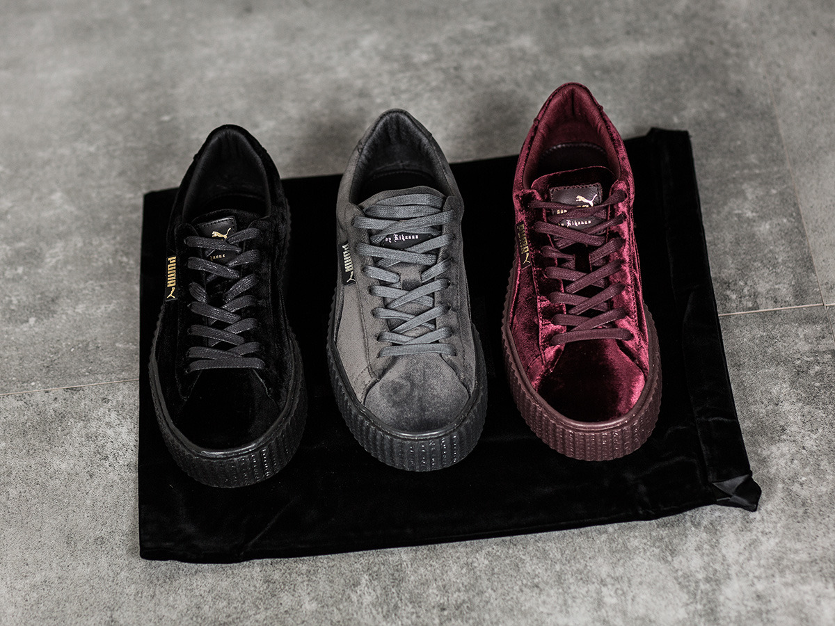 Puma Creepers Velvet Grey