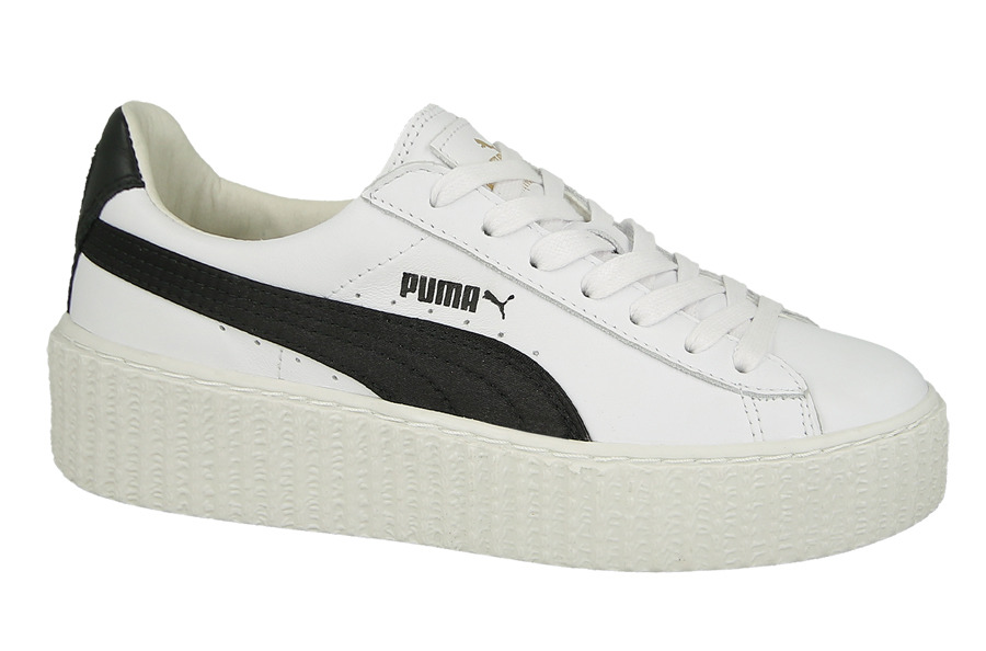 damen schuhe sneakers puma creeper x fenty by rihanna white black 364462 01 preis online. Black Bedroom Furniture Sets. Home Design Ideas