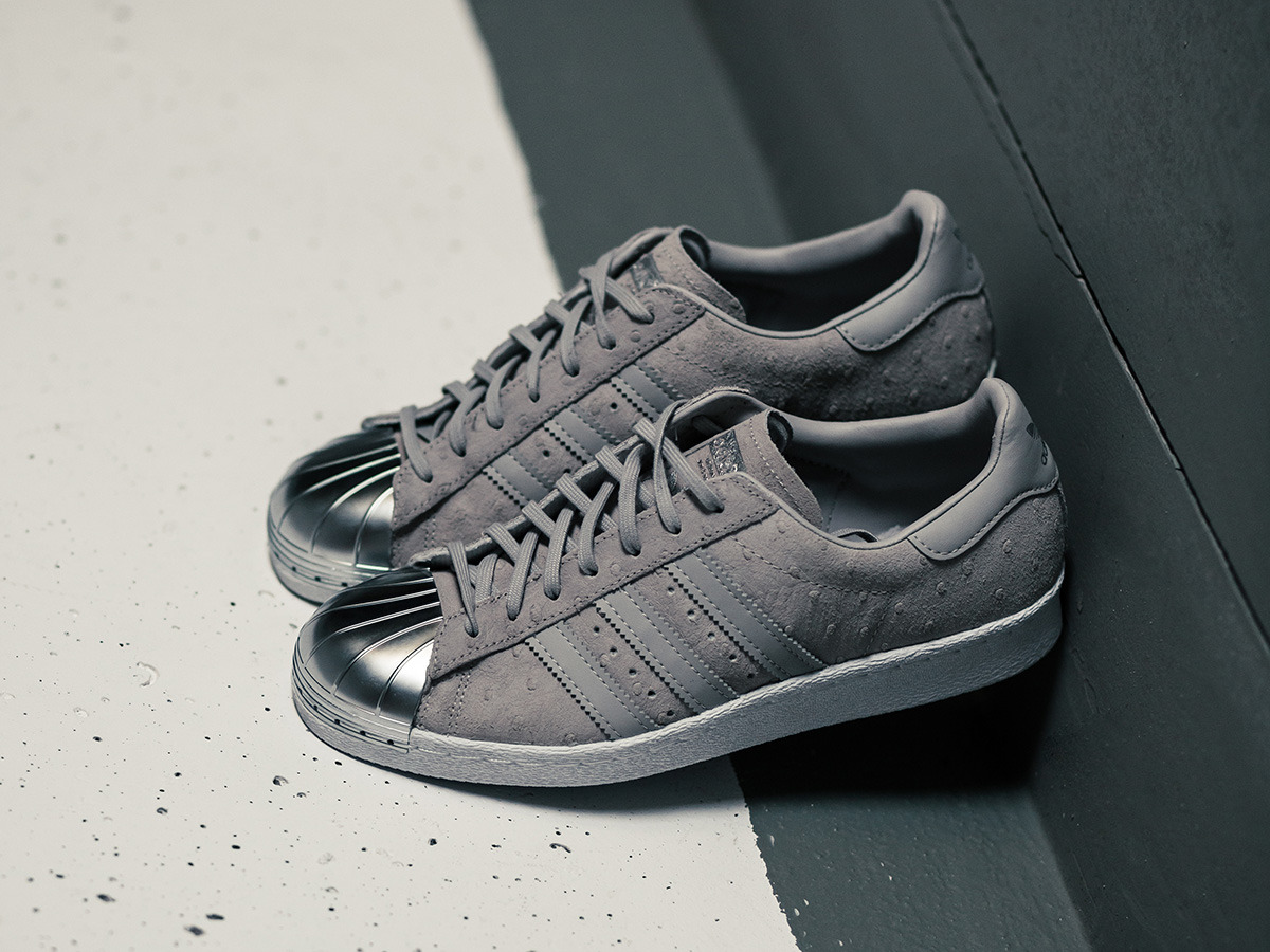 Womens Adidas Superstar Shoes Black And White