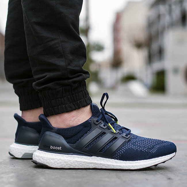 Adidas Gazelle Boost Navy Running Shoes