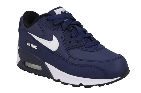 KINDER SCHUHE SNEAKERS Nike Air Max 90 Leather (PS) 724822 401