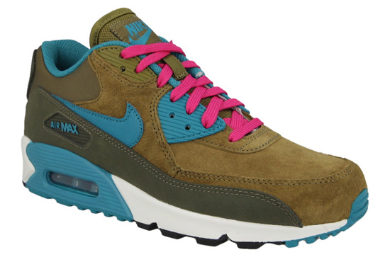 DAMEN SCHUHE NIKE AIR MAX 90 LEATHER 768887 300