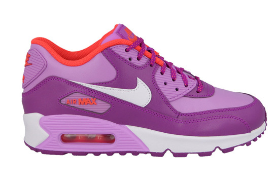 DAMEN SCHUHE NIKE AIR MAX 90 LEATHER (GS) 724852 501