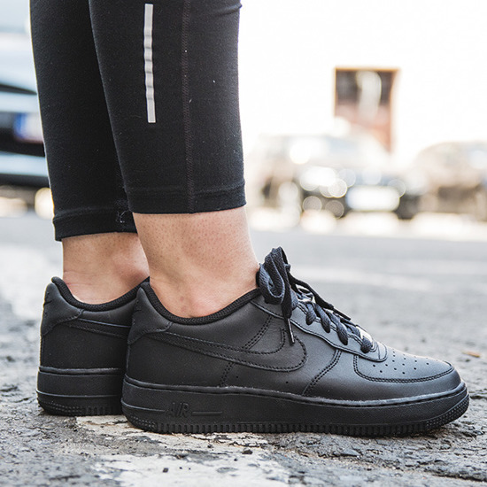 DAMEN SCHUHE SNEAKER NIKE AIR FORCE 1 (GS) 314192 009