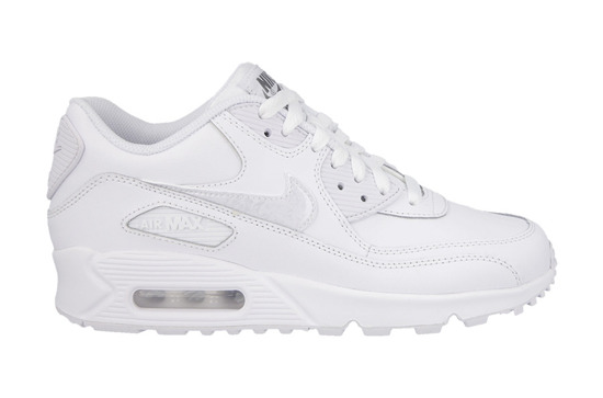 DAMEN SCHUHE SNEAKER NIKE AIR MAX 90 LEATHER (GS) 724821 100
