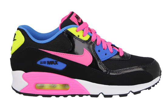 DAMEN SCHUHE SNEAKERS Nike Air Max 90 Mesh (GS) 724855 004