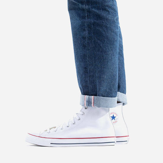 DAMEN UX SNEAKER SCHUHE CONVERSE CHUCK TAYLOR ALL STAR LEATHER 132169C