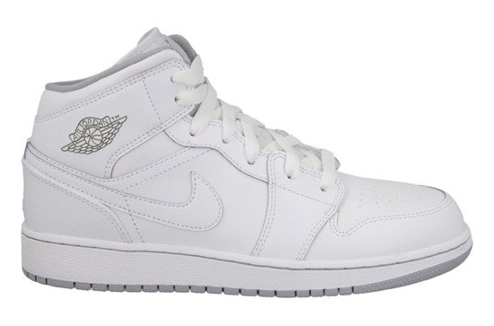 Damen Schuhe sneakers Air Jordan 1 Mid Bg 554725 112
