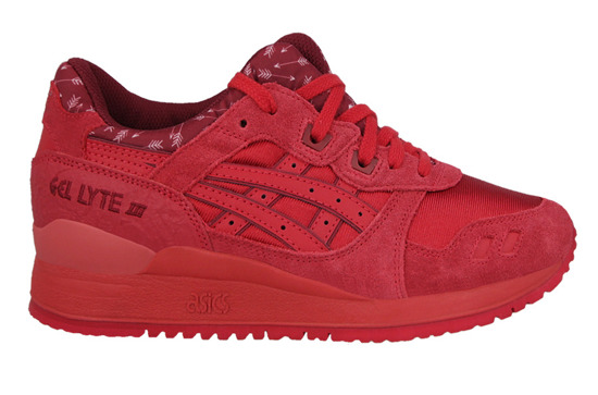 Damen Schuhe sneakers Asics Gel Lyte III Valentine's Day Pack H63QQ 2323