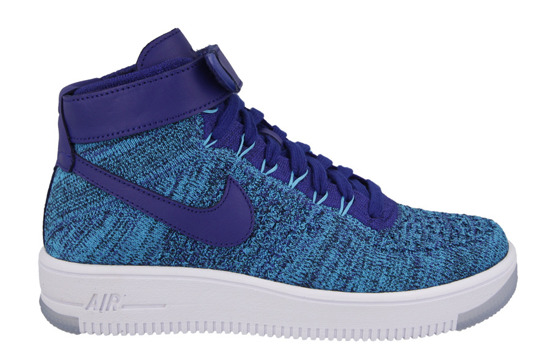 Damen Schuhe sneakers Nike Air Force 1 Flyknit 818018 400