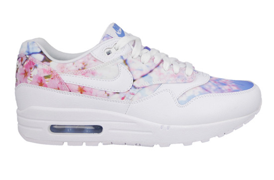 Damen Schuhe sneakers Nike Air Max 1 Print Cherry Blossom Pack 528898 102