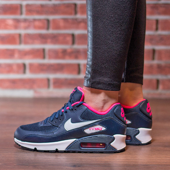 Damen Schuhe sneakers Nike Air Max 90 Mesh (GS) 724855 400